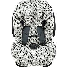 Funda para silla de coche Be Cool, Thunder- Foppapedretti Isodinamik-Nurse Tropic JANABEBE® Black Rayo