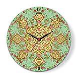 Kolorobia Majestic Mughal Glass Clock