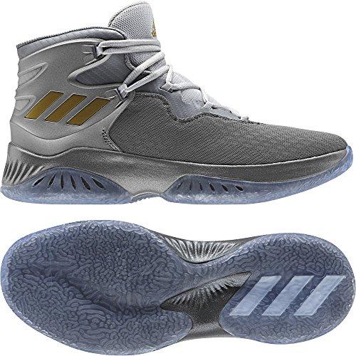 Adidas Explosive Bounce, Chaussures De Basket-ball Unisexe-adulte Diverses Couleurs (gricua / Dormet / Gridos)
