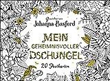 Mein geheimnisvoller Dschungel: Postkartenbuch von Johanna Basford