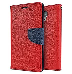 Vinnx Fancy Diary Wallet Case Cover for Samsung Galaxy Note 3 Wallet Style Diary Flip Case Cover with Card Holder - Red