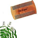 The Legend Organic Pure Neem Wood Comb Beard, Brown