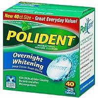 Polident 3 Minute Antibacterial Denture Cleanser Triplemint