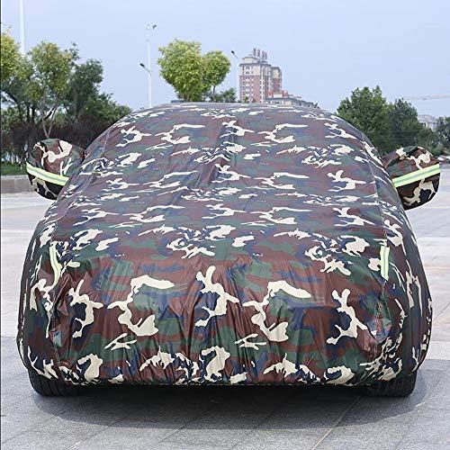 Autoabdeckung vollgarageCar Cover wasserdicht atmungsbeständig staubdicht/Kratzfeste Outdoor-Vollhaube für Audi Baureihen: A1, A3, A4, A5, A6, a7, A8, Q3, Q5, Q7,Natural,Q5