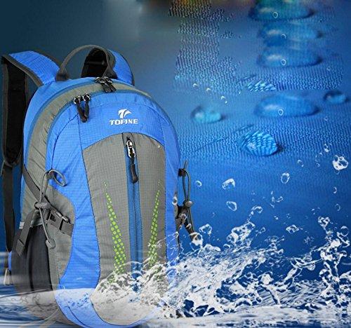 ROBAG Neue Outdoor-Rucksack wandern Tasche 25L Männer und Frauen lässig Rucksack mittlerer Outdoor-Taschen blue