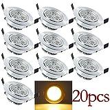 HENGDA Hengda® 20 x 3W LED 85-265V AC