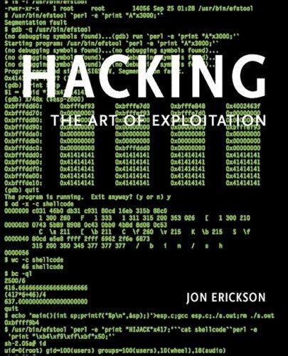 Hacking: The Art of Exploitation w/CD by Jon Erickson (2004-10-11)