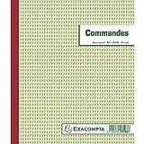"""Exacompta - manifold """"Commandes"""", 210 x 180 mm - pour le marché: F - tripli, autocopiant, 50 feuilles. (13103E)"""