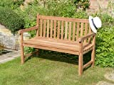 HUMBER TEAK 1.3 METRE LADY EMILY CLASSIC BENCH. MADE FROM TOP GRADE SVLK COMPLIENT TEAK