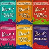 Robin Paige 6 Book set Victorian Mystery Series - Death at Gallows Green, Death at Daisy's Folly, Death at Devil's Bridge, Death at Whitechapel, Death at Epsom Down & Death at Dartmoor