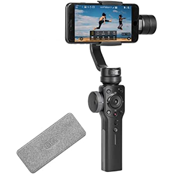 Zhiyun Smooth 4 3-Axis Handheld Gimbal Stabilisator für Smartphones Born für Mobile Filmmakers (Smooth 4)
