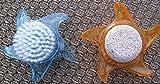 na-und 68380 Nagelbürste Handbürste Bimsstein Acryl Stern, Color:orange