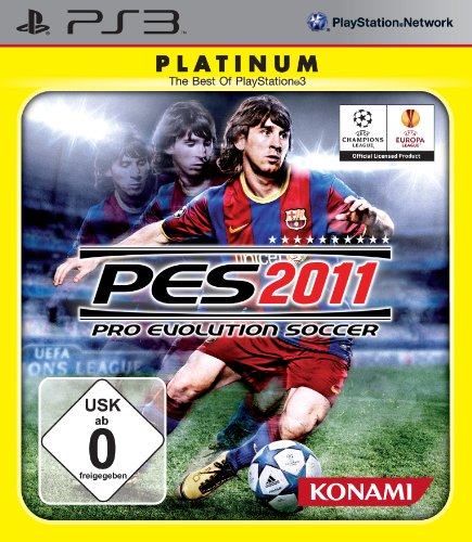 Konami PES 2011 - Pro Evolution Soccer [Platinum]