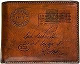 Artiglieria Fiorentina - Portafoglio Uomo Pelle con Portamonete - Mascagni - Made in Italy (marrone scuro)