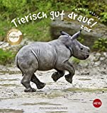 Tierisch gut drauf Postkartenkalender - Kalender 2018