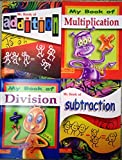 My Book of Addition, Subtraction, Multiplication & Division (Set of 4 Books)