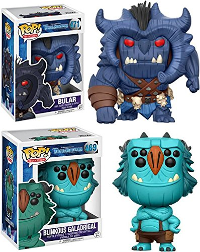 Funko POP Trollhunters Bular Blinkous Galadrigal Stylized Vinyl Figure Bundle Set NEW