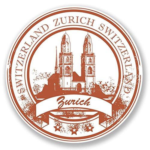 2-x-zurich-schweiz-vinyl-aufkleber-aufkleber-laptop-reise-gepack-auto-ipad-schild-fun-6777-10cm-100m