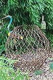 Giant natürlichen Weiden Ball Pflanze unterstützt faltbar Garten Struktur 100cm