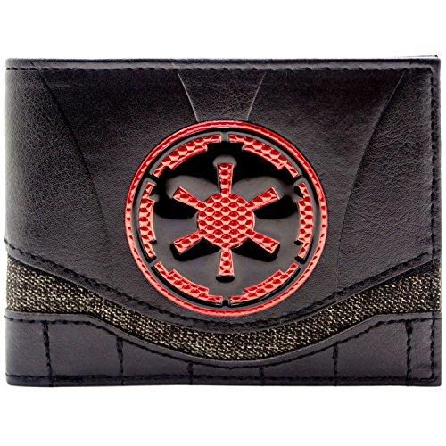 Star Wars Rot Imperial Logo Schwarz Portemonnaie Geldbörse