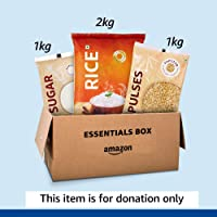 Essentials Box Donation- Provides for 20 meals – Delivered to Akshaya Patra
