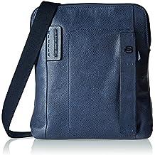 sconto 551f5 5a0ec borse tracolla uomo piquadro - Blu - Amazon.it