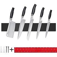 TWBEST Barre Magnétique pour Couteaux,40cm Porte-Couteau Magnétique en Acier Inoxydable,Porte Couteaux Magnétique,Barre…