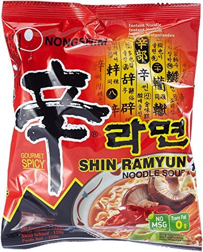 Nongshim ShinRamyun sehr scharf 20x title=