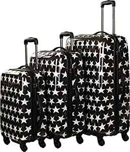 saxoline blue star kofferset 3tlg koffer rucks cke taschen. Black Bedroom Furniture Sets. Home Design Ideas