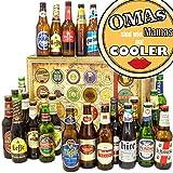 Omas sind wie Mamas nur cooler - 24 Biere aus aller Welt - Geschenkset - Bier