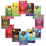 #7: Arabian Nights Soex Assorted Herbal Non Tobacco Hookah Flavours Hcombo-5 (Pack Of 12 Flavours - 50 Gms Each) For Party