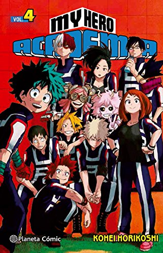 My Hero Academia nº 04 (MY HERO NO ACADEMIA)