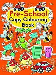 Copy Colouring Book Preschool