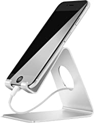 Lamicall Supporto Telefono, Dock Telefono : Universale Supporto Dock per Phone XS XS Max XR X 8 7 6 6S Plus 5 5S 4 4S, Huawe