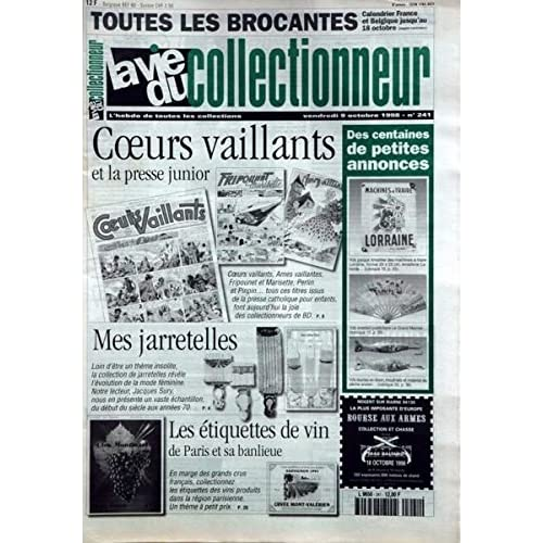 Coeurs Vaillants et l presse junior - Jarretelles, Jacques Sury - Étiquettes de vin de Paris et sa banlieue - L'éventail dans tous ses états à Paris