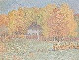 Christian Rohlfs–Goethes Gartenhaus im Weimarer Park Vintage Fine Art Print), Up to 594mm by 841mm or 23.4