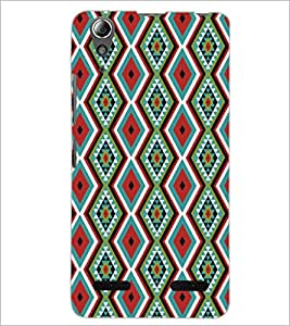 PrintDhaba Pattern D-5199 Back Case Cover for LENOVO A6000 (Multi-Coloured)