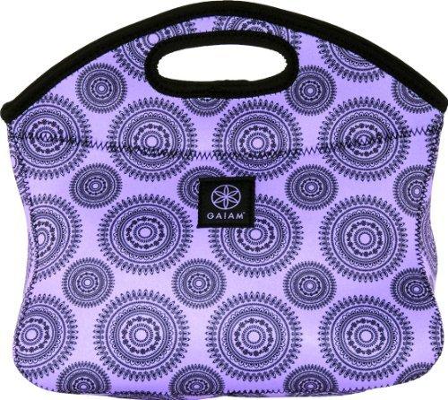 gaiam-lunch-clutch-neoprene-purple-marrakesh-30903