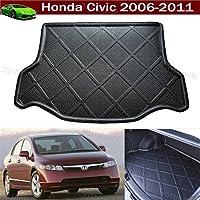 Vassoio Tappetino Bagagliaio Cargo bagagliaio Schermo pavimento Custom Fit per Honda Civic 200620072008200920102011