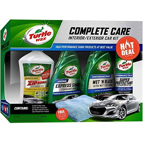 Turtle Wax 5-Piece Complete Care Kit by Turtle Wax
