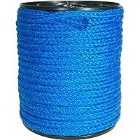 50m Kunststoffseil 10mm 800kg grün beige blau gelb schwimmfähig Polyprolylen PP-Seil Seil Tau salzwasserbeständig
