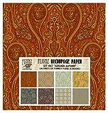 Decoupage Paper Pack Golden Autumn FLONZ