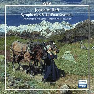 """Sinfonien 8-11 """"die 4 Jahreszeiten"""""""