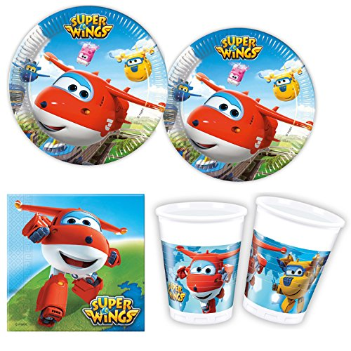 Procos 10118265 Ensemble de fête Super Wings
