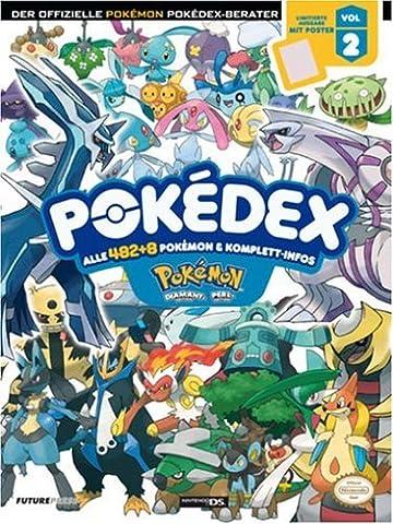 Der offizielle Pokémon Diamant & Perl Pokédex-Berater Volume 2 (Lösungsbuch) (Pokemon Diamant)