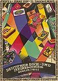 Vintage Stationery und Druck Deutsche Buch Drucker, Deutschland, 1923, 250gsm, Hochglanz, A3, vervielfältigtes Poster