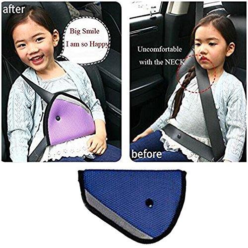 Preisvergleich Produktbild E Support™ Neue Auto-Kindersicherheitsabdeckung Harness Positioniert Gurteinsteller Mash Pad Kids Sitzgürtelclip für Kinder Blau