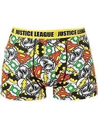 Bóxers para Hombre de varios diseños a elegir (Batman Superman Rocky Balboa y más), Justice League Justice League, Medium