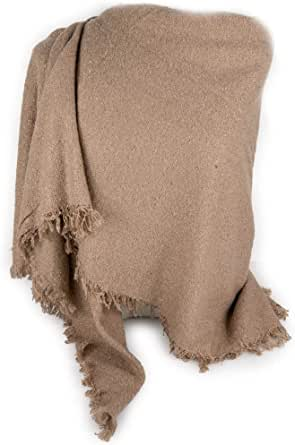 Emila Sciarpone quadrato da donna ragazza signora sciarpa grande bouclè foulard scialle stola coprispalle caldo morbido a quadri tartan scozzese elegante autunno inverno 2021 2022 autunnale invernale