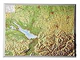 Relief Allgäu Bodensee (1:400.000)